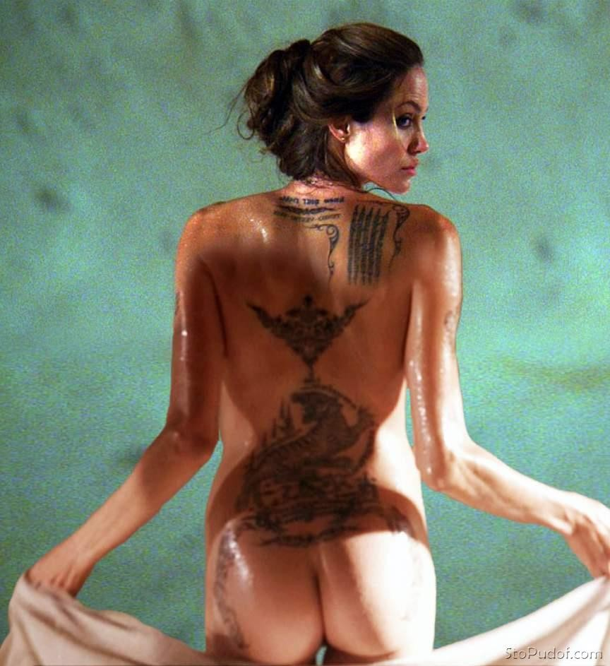 Something Angelina jolie naked picture for the