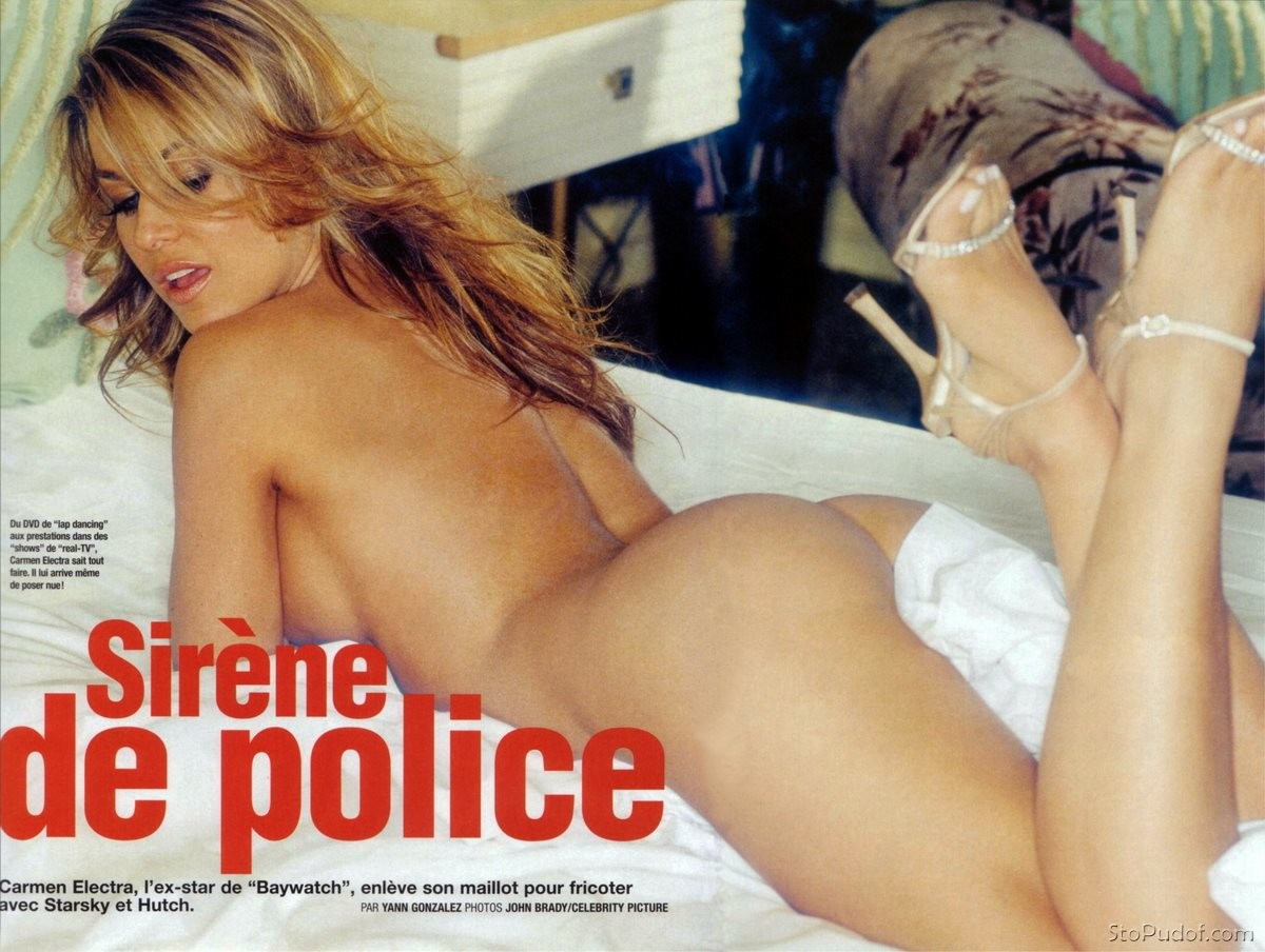 Carmen Electra naked hacked pictures - UkPhotoSafari