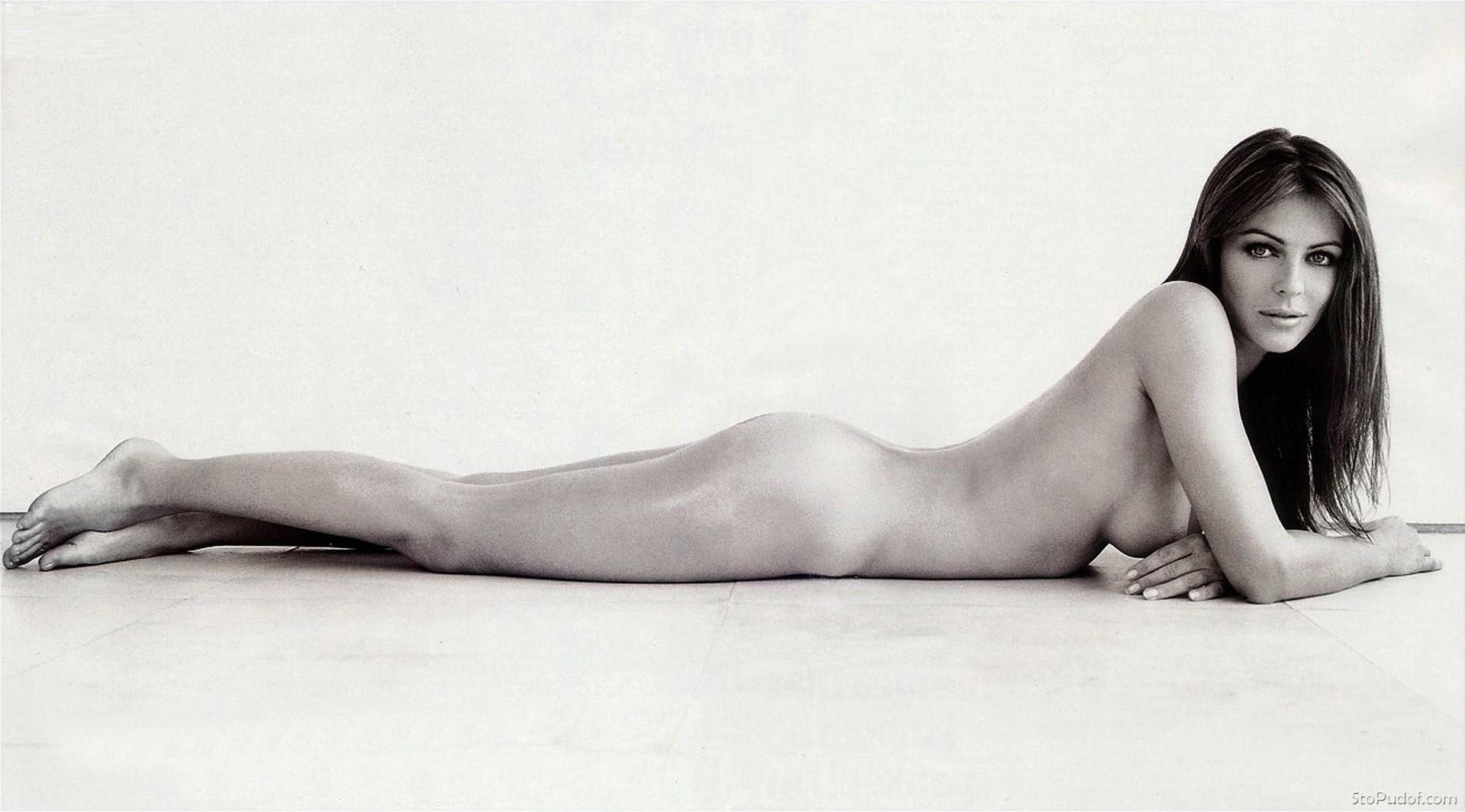 Elizabeth Hurley Looks Naked In New Instagram Pool Photo