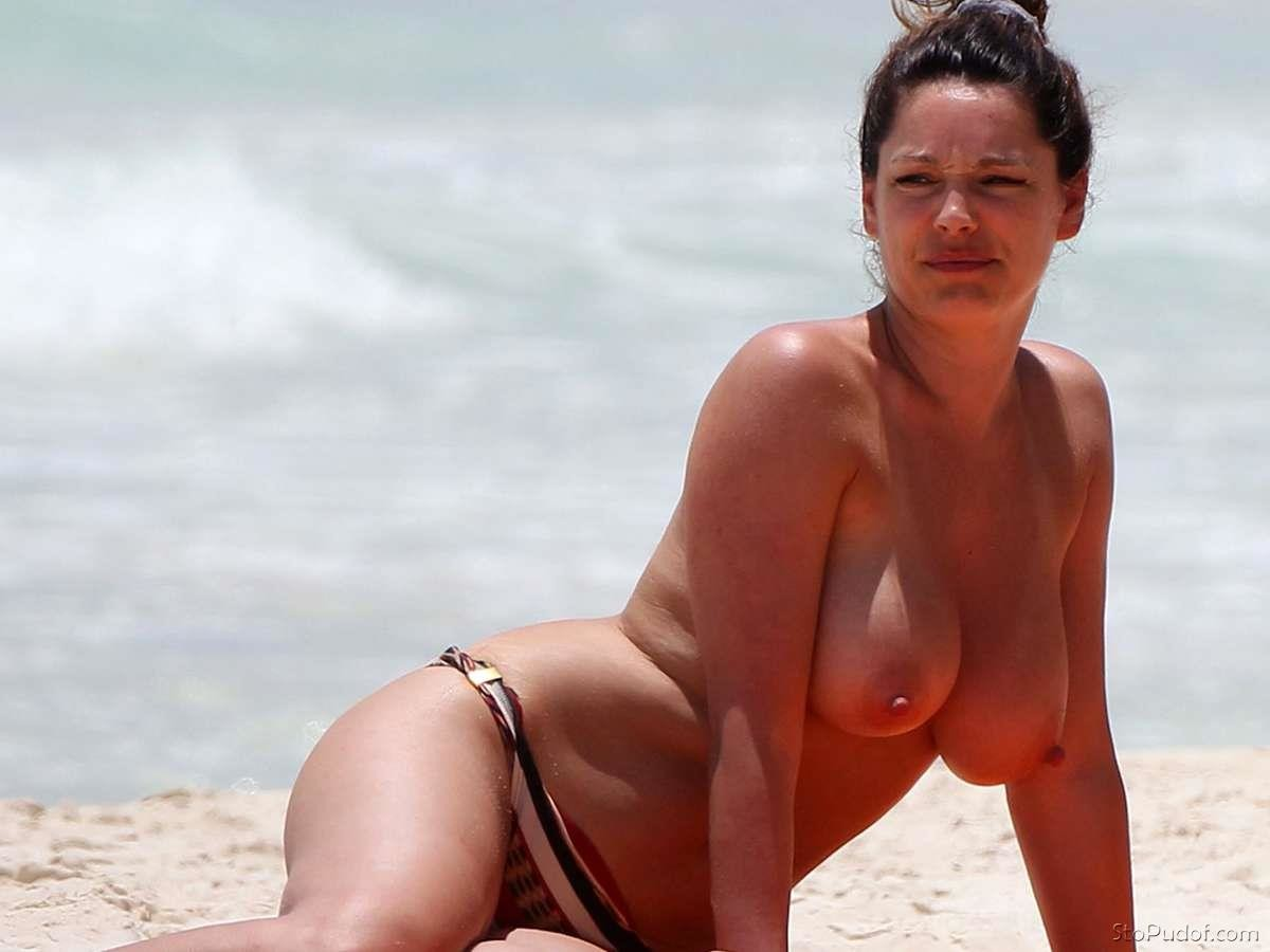 Kelly brook nude on survivor island