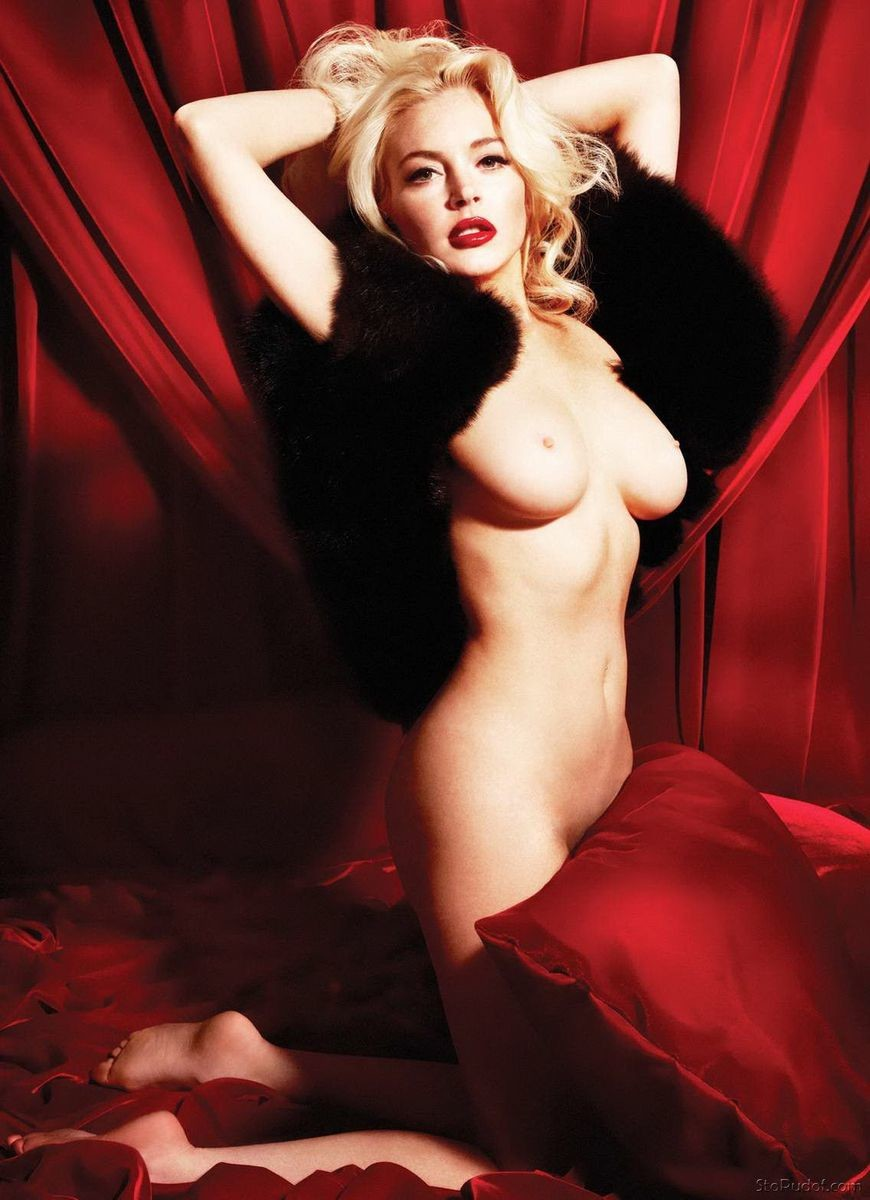 Lindsay Lohan fake nude - UkPhotoSafari