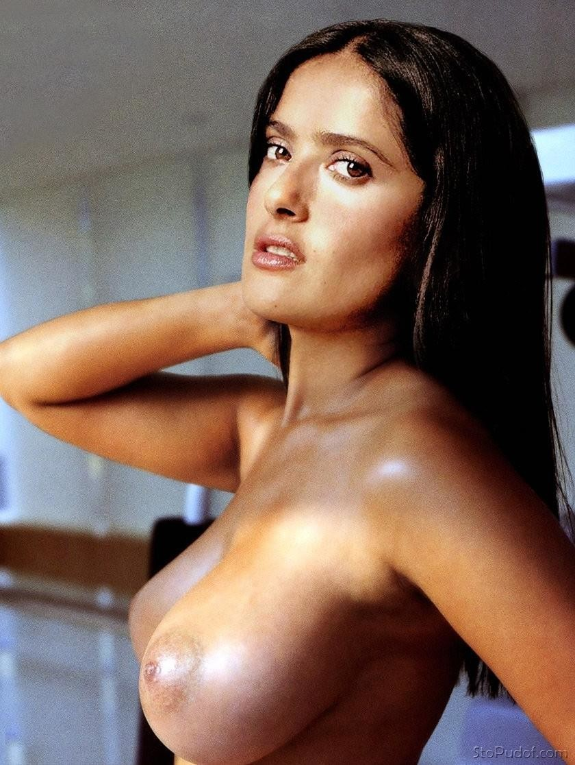 Criticism write Nude salma hayek naked accept. opinion