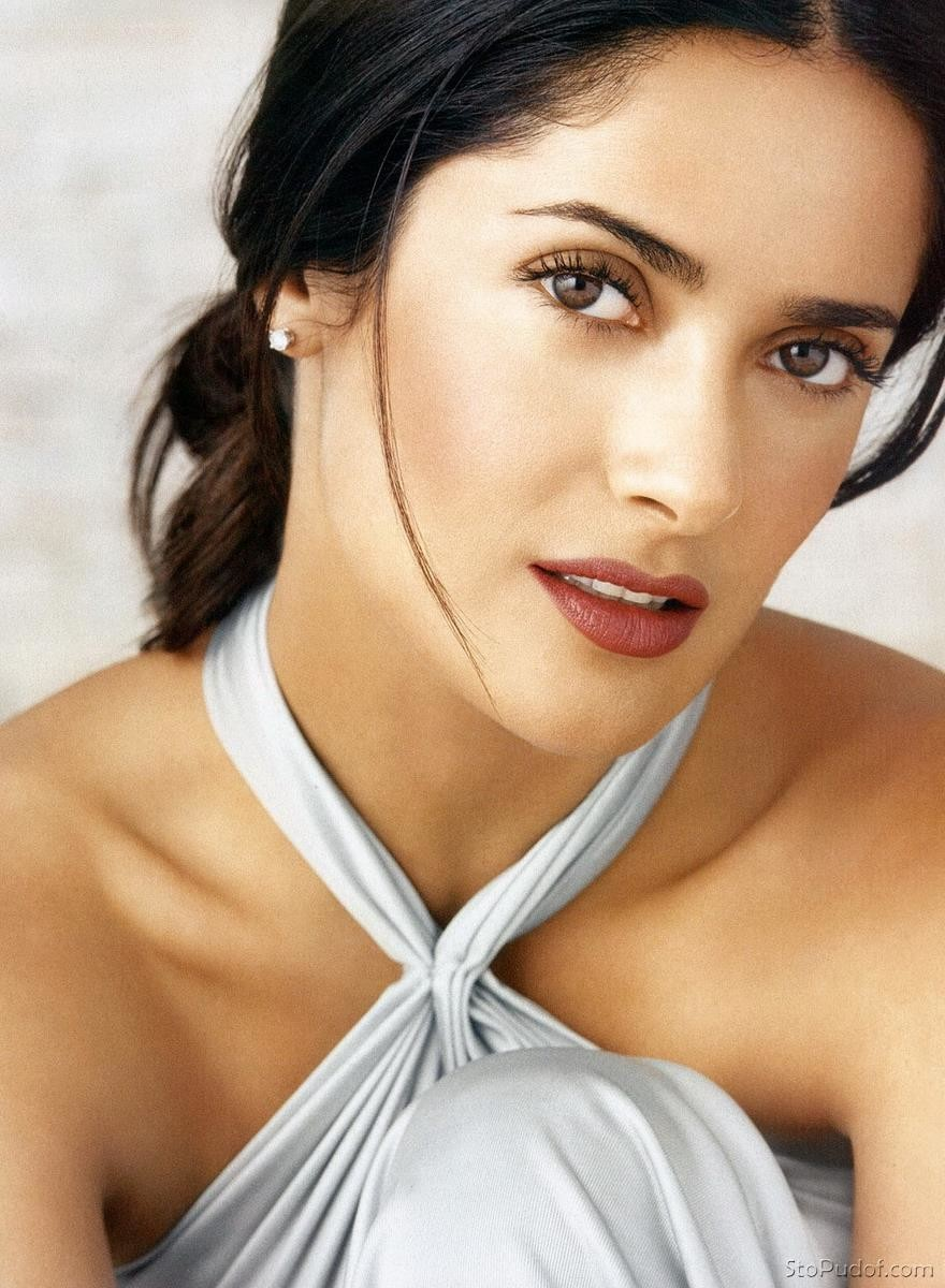 free pictures celeb boob salma hayek