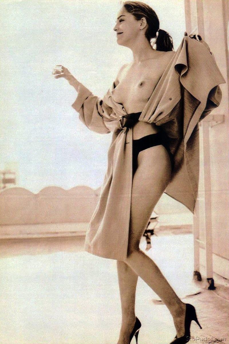 MARILYN: Sharon stone nude fakes