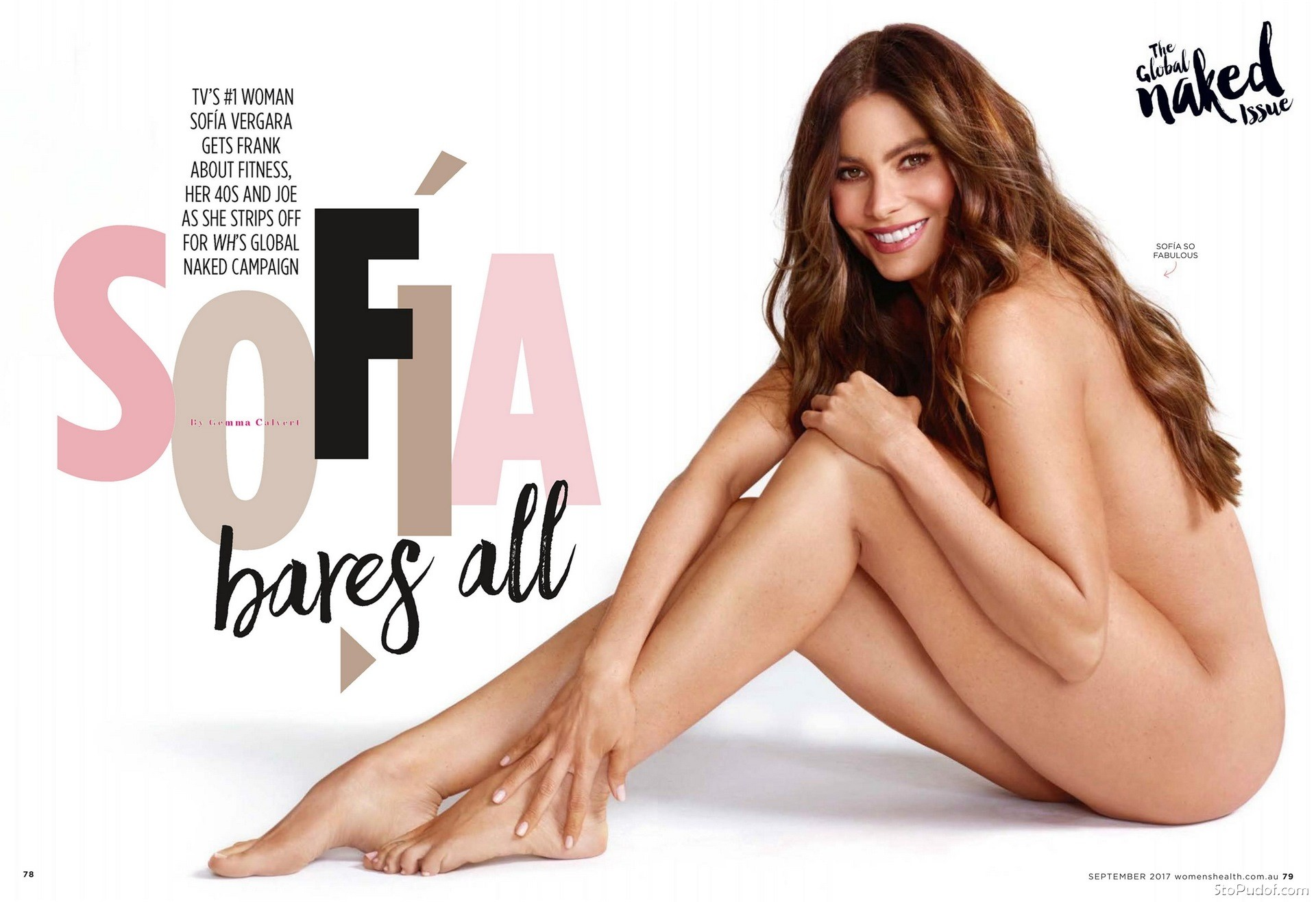 Sofia Vergara hot naked - UkPhotoSafari