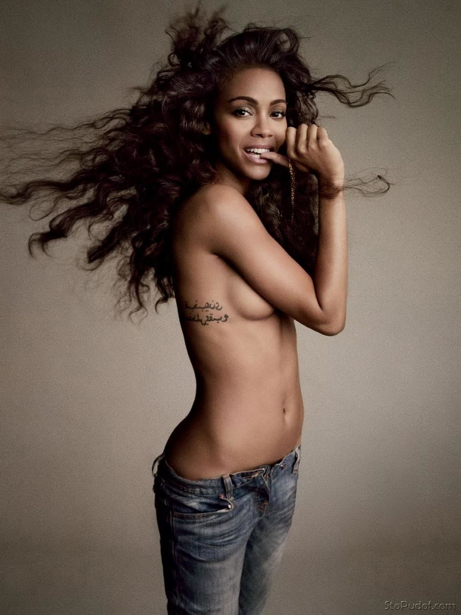 Zoe Saldana nude internet photos - UkPhotoSafari