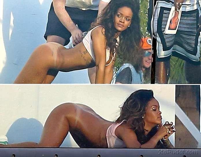 Rihanna sexy nude blowjob leaks