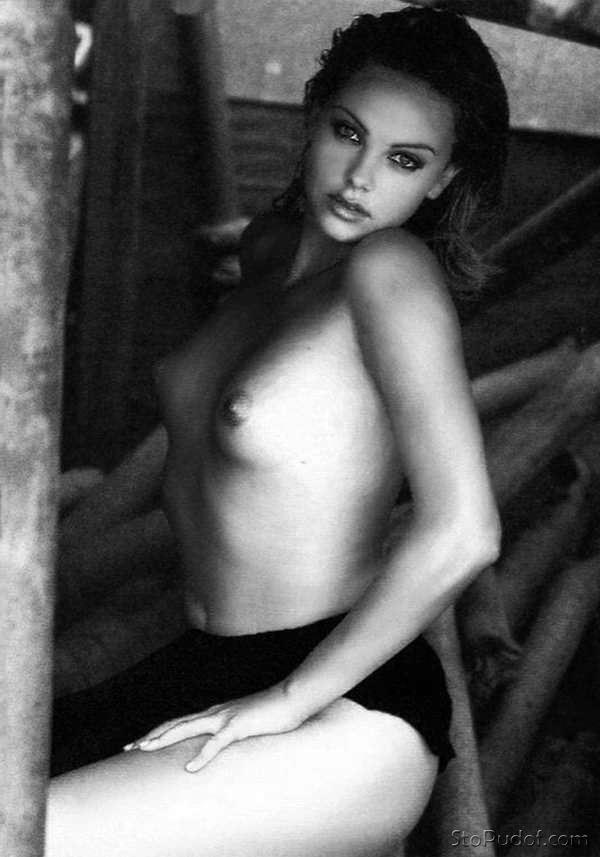 Bikini charlize theron nude