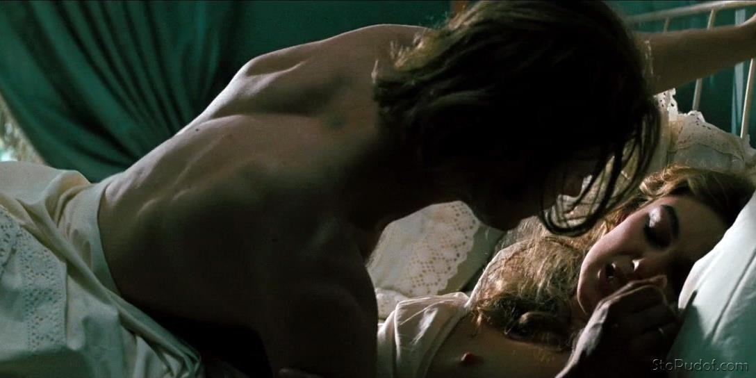 Keira Knightley Breasts, Butt Scene In The Aftermath