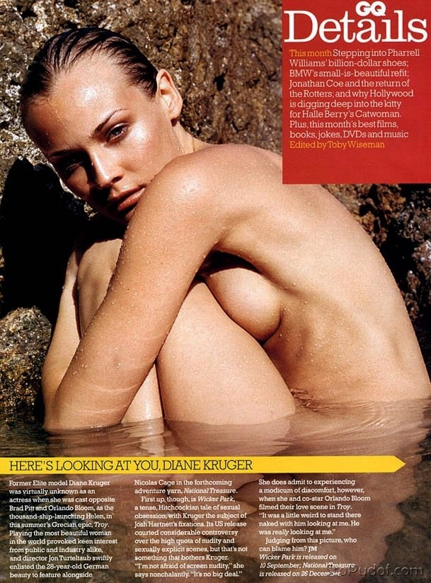 new naked pictures of Diane Kruger - UkPhotoSafari
