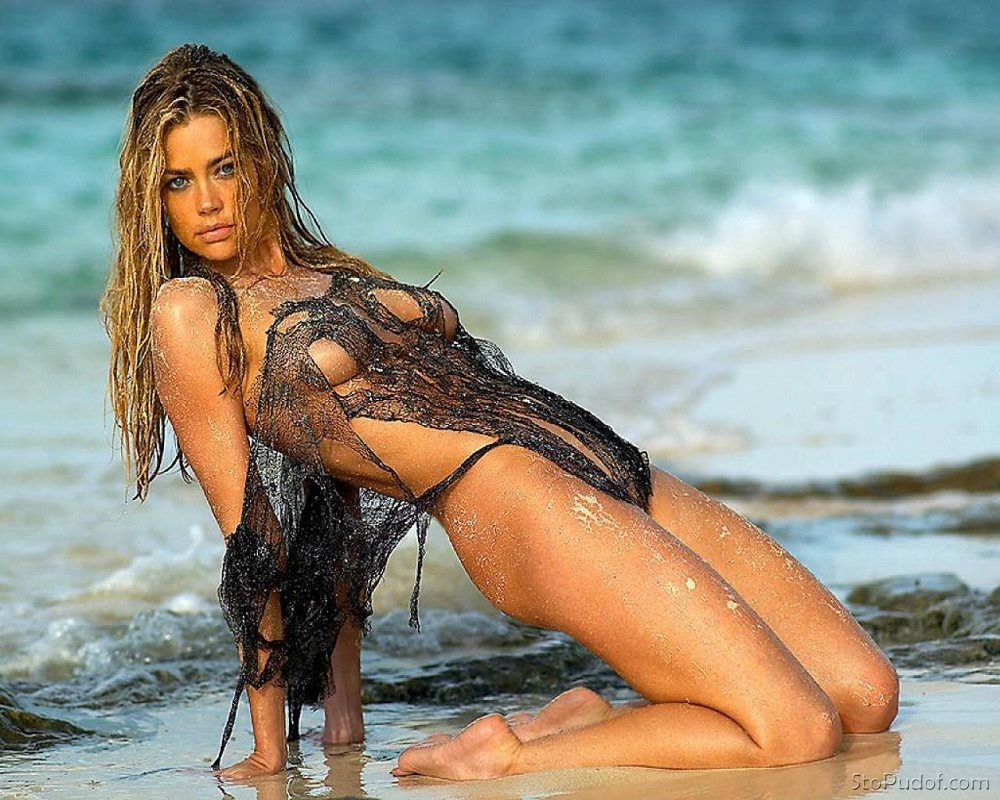 Goes! seems Denise richards topless pics healthy!