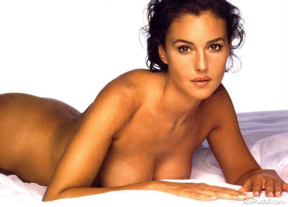 see the naked pictures of Monica Bellucci - UkPhotoSafari