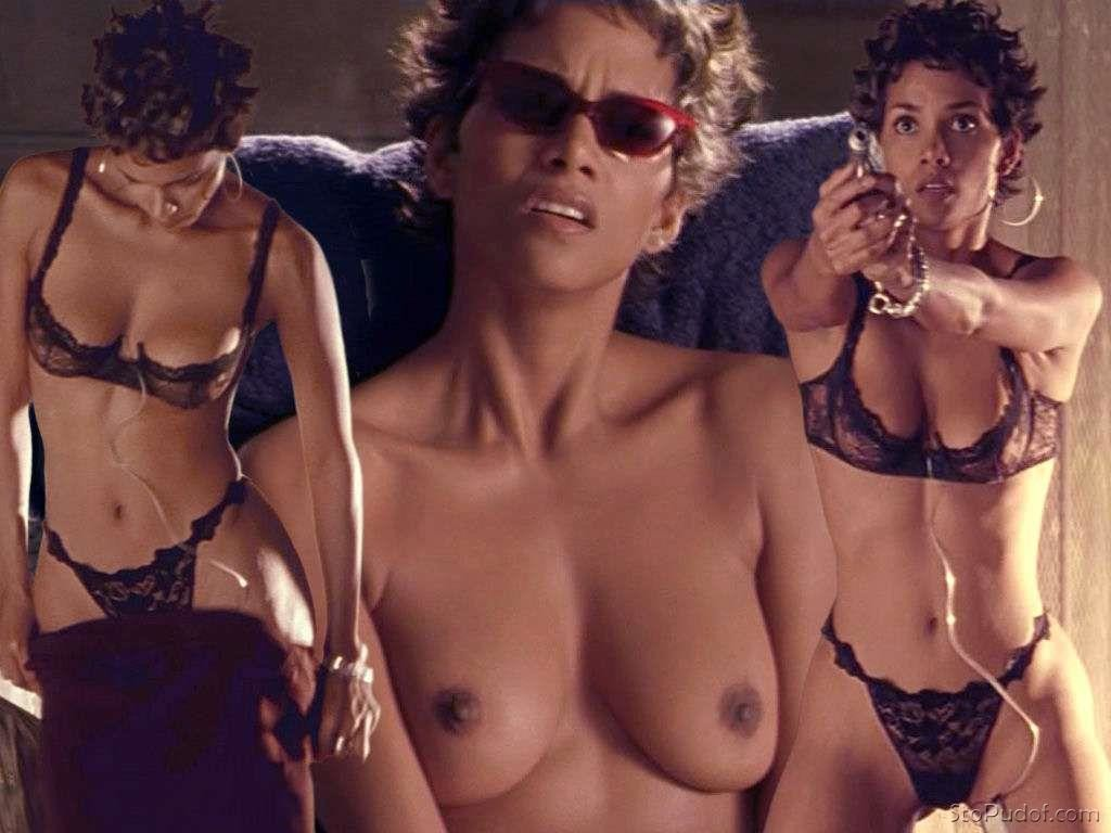Nude video of halle berry